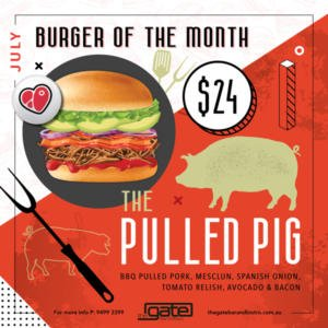 the pulled pig