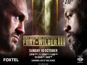 Fury vs Wilder III