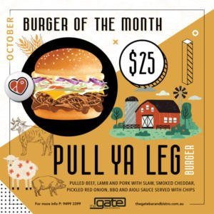 October's Burger of the Month
